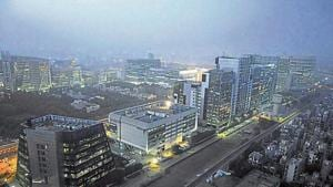 In February 2016, the state government had directed the MCG to take over the three colonies. Before the handover, the DLF had opted to fix the existing deficiencies instead of paying the MCG to do so.(HT image)