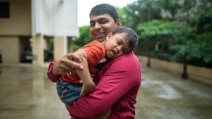 Aditya Tiwari met Avnish for the first time about five years ago at an orphanage.(Facebook/Humans of Bombay)