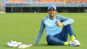 Shubman Gill is the new face in the Indian Test squad(Anil Dayal/Hindustan Times)