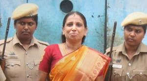 Nalini Sriharan, one of the seven convicts in the Rajiv Gandhi assassination case,was released from prison in Vellore on a 30-day parole on July 25 to make preparations for her daughter's wedding.(PTI)