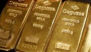 Gold prices dipped on Thursday as hopes for a thaw in the U.S.-China trade tensions lifted risk appetite.(Reuters Photo)