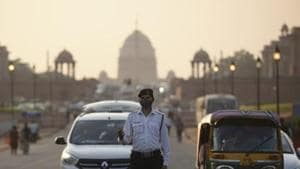 Since 2015, Lutyens' Delhi has undergone several changes and with the recent decision to revamp the central vista, more are expected to come about in the next couple of years.(Burhaan Kinu/HT PHOTO)
