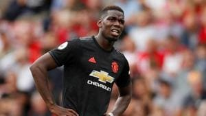 Paul Pogba will be missing in action from United's clash against Leicester(Action Images via Reuters)