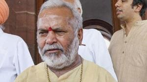 A special investigation team (SIT) formed to probe a law student's rape allegations against Swami Chinmayanand grilled the former union minister for eight hours(PTI)