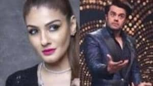 Nach Baliye 9: Raveena Tandon has a face-off with Maniesh Paul on sets, shoot stalled for 1 hour