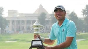 Indonesian golfer Rory Hie(Twitter)