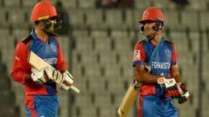 Afghanistan's Mohammad Nabi (L) and Najibullah Zadran (R) hit 7 sixes off 7 balls(Twitter)