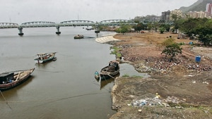 The petition was filed by activist Rohit Joshi along with NGO Vanashakti, claiming that the reclamation of land for Gaimukh chowpatty had led to flooding at Gaimukh during heavy rain.(HT image)