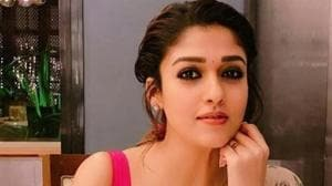 Netrikann first poster: Nayanthara is rumoured to play a blind character in the film.