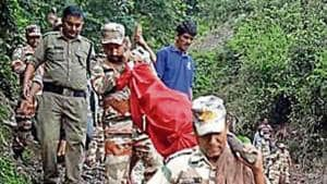 ITBP men walk 14km to take Uttarakhand woman's body to cremation ground