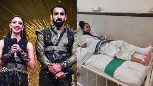 Pooja Banerjee quits Nach Baliye 9 with husband Sandeep Sejwal post injury, hospitalised