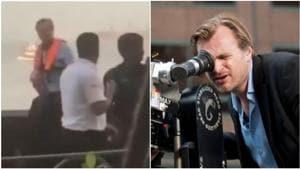 Tenet: Christopher Nolan shoots film at Gateway of India with Dimple Kapadia, Robert Pattinson. See pics, video