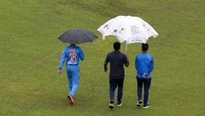 Ind vs SA: The first T20I match was washed out(AP)
