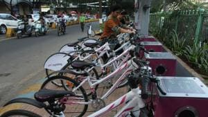 The bikes would have reflectors, baskets and rustproof frames, and the maximum speed would be restricted to 25km per hour.(HT FILE)
