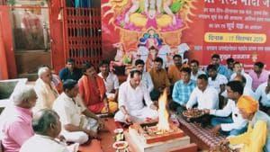 Congress MLA from RaeBareli holds yagna for PM Modi on his birthday