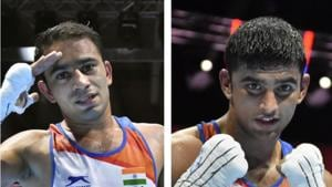 Amit Panghal, Manish Kaushik seal places in Olympic qualifiers with World Championship medals