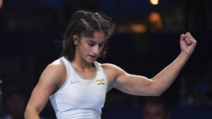 Changed tactics suggested by coaches during Olympic qualifier bout: Vinesh Phogat