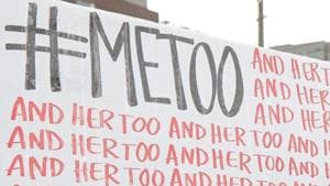 If India's MeToo movement has achieved anything, it is awareness, among corporates and employees, of the law; among predatory bosses that it's #TimesUp; among women of the power of their collective voice(AP)