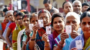 The counting for both the states will be done on October 24 and the entire electoral process completed before October 27.(HT image)