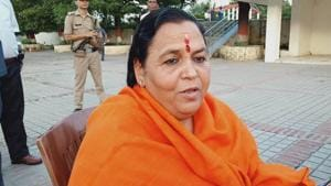 Uma Bharti opposes hydro power project on Ganga, plans march from Gangotri