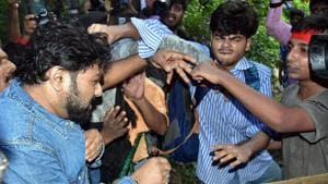 'Won't harm your son', Babul Supriyo to mother of student who attacked him