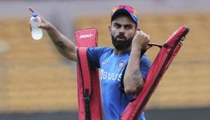 Kohli & team take part in training session ahead of 3rd T20I: See pics
