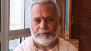 Former Union minister Swami Chinmayanand, accused of raping a law student has been arrested by a Special Investigation Team (SIT) formed to probe the case.(HT FILE PHOTO.)