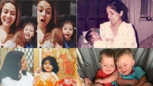 Daughter's Day: Mira Rajput, Shweta Bachchan, Neena Gupta and Lisa Ray shared pictures of their daughters on social media.