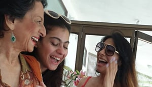 On Tanuja's 75th birthday, daughter Kajol has a special wish.