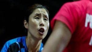 South Korean badminton coach Kim Ji Hyun(BWF)
