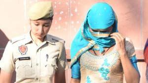 Pooja Rani has been awarded 4-year jail.(HT PHOTO)
