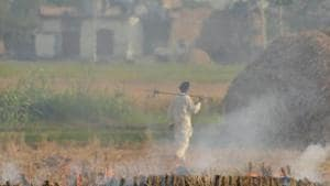 The Delhi Pollution Control Committee has reinforced its drive against construction sites to control dust, which is a major source of the national capital's air pollution during winter.(AP)