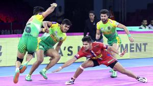 Dabang Delhi beat Patna Pirates in PKL 2019.(PKL)