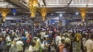 Central Railways commuters faced inconvenience due to a snag which developed in the locomotive of Konkan Kanya Express.(PTI File/For representation purposes only)