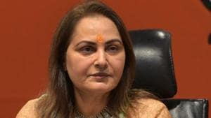 The Allahabad high court also issued notices to actor-turned-politician Jaya Prada and several farmers, asking them to file their reply in the case by the next date of hearing on October 24.(Mohd Zakir/HT PHOTO)
