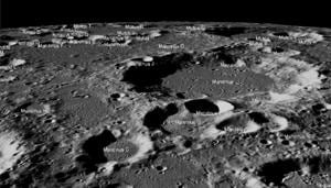NASA eleased high-resolution images captured by its Lunar Reconnaissance Orbiter Camera (LROC) during its flyby of the lunar region where Vikram lander attempted a soft landing.(Photo: Twitter/@NASA)