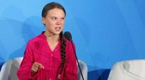 Swedish teenager Greta Thunberg said Friday she doesn't understand why grown-ups and world leaders would mock children and teens for acting on science(AP)