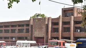 This is the second such instance in past 10 days at the Ludhiana central jail.(HT FILE)
