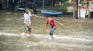 Long dry spells, accompanied with more intense rainfall concentrated over fewer days, are becoming the norm(Santosh Kumar/Hindustan Times)