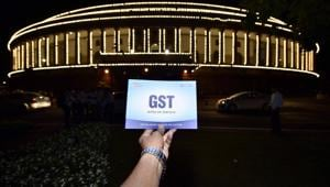 The Goods and Services Tax (GST) collections dropped sharply to a 19-month low of Rs 91,916 crore in September, mirroring a widening slowdown in economy triggered by shrinking consumer demand.(HT FILE PHOTO.)