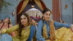 Saand Ki Aankh song Womaniya: Bhumi Pednekar and Taapsee Pannu play professional shooters in the film.
