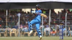 India women's cricket captain Harmanpreet Kaur in action.(BCCI)