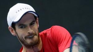 Britain's Andy Murray in action against Dominic Thiem of Austria.(REUTERS)