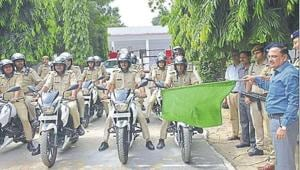 Ghaziabad police gets 'Tejas' bikes to tackle snatchers