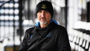 Sussex 1st team coach Jason Gillespie poses for a photo during a Sussex CCC photocall at The 1st Central County Ground on March 28, 2018 in Hove, England.(Getty Images)