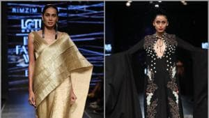 LMIFW SS '20: Samant Chauhan, Rimzim Dadu's collections mirror elements from nature at IFW ramp
