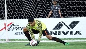 India football team goal keeper Gurpreet Singh Sandhu(twitter)