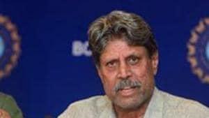 File image of former India cricketer Kapil Dev.(PTI)