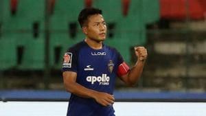File image of India and Chennaiyin FC footballer Jeje Lalpekhlua.(ISL Image)