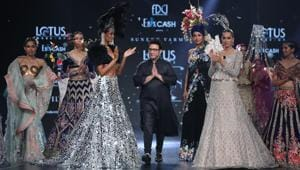 Designer Payal Jain, in her latest collection, paid an ode to her father, while ace designer Suneet Varma closed day three of Lotus Make-up India Fashion Week SS'20.(Unsplash)